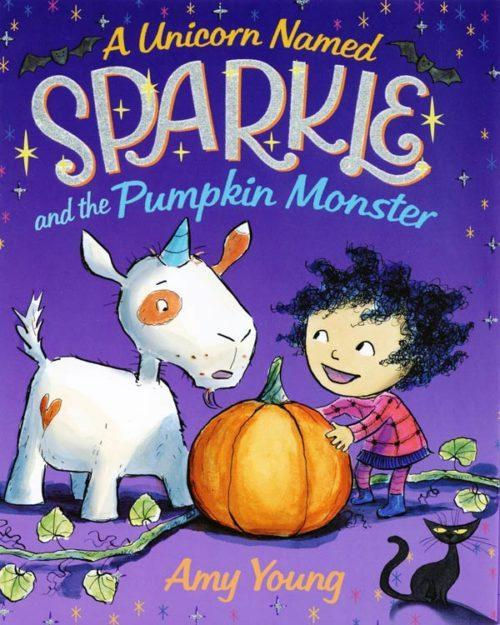 A Unicorn Named Sparkle and the Pumpkin Monster book cover